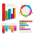 modern business infographics vector image