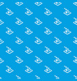 ring d printing pattern seamless blue vector image vector image