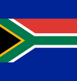 south africa flag icon in flat style national vector image