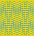 tile yellow green and blue pattern or background vector image vector image