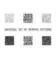 Universal lineal geometric seamless pattern vector image vector image