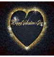 Valentines day - typographic calligraphic vector image vector image