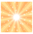 sun ray3 vector image