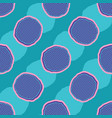 abstract net polka dot seamless pattern vector image vector image