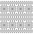 Design seamless monochrome geometric pattern vector image vector image