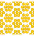 honey seamless pattern beekeeping endless vector image vector image