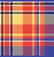 modern abstract madras plaid seamless pattern vector image vector image