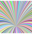 multicolored 3d hole background - design from vector image vector image