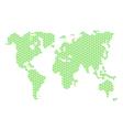 tri world map vector image