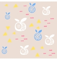 Baby pattern design Nursery kid background vector image vector image