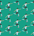 football player pattern vector image