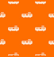 freight train pattern seamless vector image vector image
