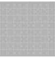 Grey Puzzles Pieces Square JigSaw - 64 vector image vector image