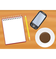 Office table vector | Price: 1 Credit (USD $1)
