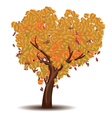 Stylized Autumn Tree6 vector image vector image