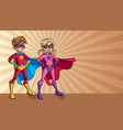 super kids ray light background vector image vector image