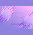 trendy glitched vibrant gradient background vector image vector image