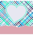 Valentine pattern with hearts EPS 8 vector image vector image