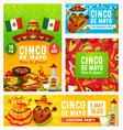 viva mexican cinco de mayo mexico holiday fiesta vector image vector image