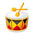 carnival drum vector image