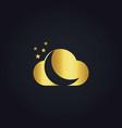 Cloud star gold logo