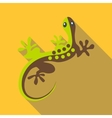 Gecko icon flat style vector image vector image