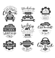 Mechanic Workshop Vintage Stamp Collection vector image vector image