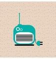 radio icons design vector image vector image