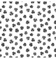 seamless pattern made from dark shamrocks vector image