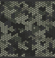 texture military desert camouflage seamless vector image vector image