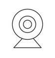 web camera icon pictograph pixel perfect vector image