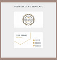 double-sided vintage business card template