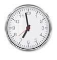 elegant office clock vector image