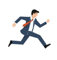 Flat style of a businessman vector image vector image