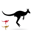 Image of an kangaroo vector | Price: 1 Credit (USD $1)