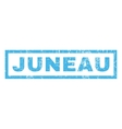 Juneau Rubber Stamp vector image