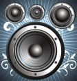 loudspeakers speakers vector image vector image