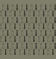 retro object patterns for making seamless vector image vector image