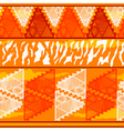 Seamless texture in tribal Indian style vector image vector image
