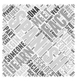 spanish basicsthe face Word Cloud Concept vector image vector image