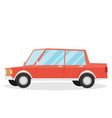cartoon car isolated on white background vector image