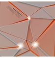 abstract background Polygonal pattern and vector image