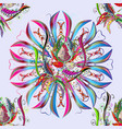 abstract decorative ethnic mandala sketchy vector image vector image