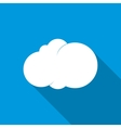 Cloud icon flat style vector image vector image