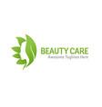 nature beauty care logo design