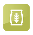 Sack of grain icon Farm vector image vector image