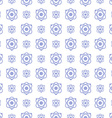 Seamless pattern science and technology background vector image vector image