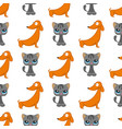 cats dogs cute animal funny vector image