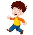 boy funny vector image vector image