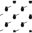 Cezve icon in black style isolated on white vector image vector image